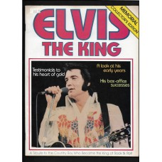 Elvis Presley Magazine 1977 Elvis The King Memorial Collectors edition RARE !!