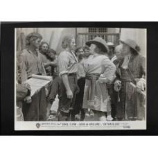 CAPTAIN BLOOD 1951  - ERROL FLYNN - OLIVIA DE HAVILLAND 8x10 B/W PHOTO - RARE !!