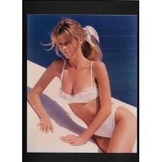CLAUDIA SCHIFFER - 8X10 COLOR PHOTO - SEXY !!
