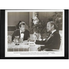 FOR YOUR EYES ONLY - JAMES BOND 8X10 B&W PHOTO 1981