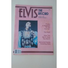 ELVIS PRESLEY THE RECORD Magazine ISSUE October 1979 VOL 1 NUM 6 W PHOTOS
