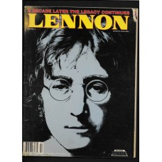 Lennon Magazine A Decade Later The Legacy Continures Vol.1 No.2 1990