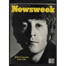 Newsweek Magazine December 22, 1980 JOHN LENNON MEMORIAL ISSUE - RARE !!