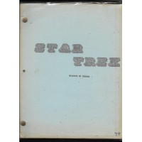 STAR TREK - BALANCE OF TERROR ORIGINAL SCRIPT 1966