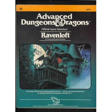 ADVANCED DUNGEONS AND DRAGONS - RAVENLOFT MODULE I6