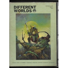 DIFFERENT WORLDS ISSUE 3 1979  - GAMING REF BOOK - RARE !!