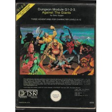 AGAINST THE GIANTS G1-3  - ADVANCED DUNGEONS AND DRAGONS -  MODULE