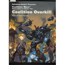PALLADIUM BOOKS -  RIFTS - COALITION WARS - COALITION OVERKILL - VG SHAPE !!