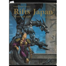 PALLADIUM BOOKS -  RIFTS - JAPAN - WORLD BOOK 8 - VG SHAPE !!