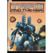 PALLADIUM BOOKS -  RIFTS - TRIAX AND THE NGR- WORLD BOOK 5 - VG SHAPE !!