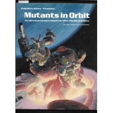 PALLADIUM BOOKS -  RIFTS - MUTANTS IN ORBIT - ADVENTURE AND SOURCEBOOK - VG SHAPE !!