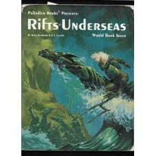 PALLADIUM BOOKS -  RIFTS - UDERSEAS - WORLD BOOK 7 - VG SHAPE !!