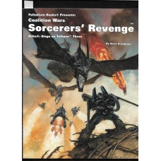 PALLADIUM BOOKS -  RIFTS - COALITION WARS - SORCERERS REVENGE SIEGE ON TOLKEEN THREE - VERY GOOD SHAPE