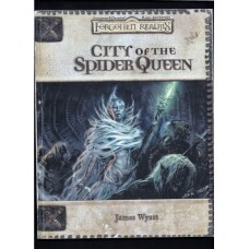 CITY OF THE SPIDER QUEEN - FORGOTTEN REALMS - MODULE
