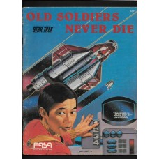 OLD SOLDIERS NEVER DIE - STAR TREK THE ROLE PLAYING GAME - FASA - RARE !!