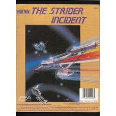 THE STRIDER INCIDENT - STAR TREK THE ROLE PLAYING GAME MODULE - FASA - RARE !!