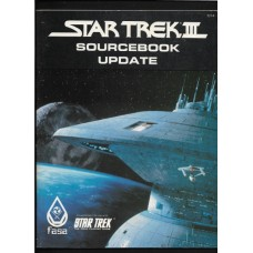 STAR TREK 3 SOURCEBOOK UPDATE - STAR TREK THE ROLE PLAYING GAME - FASA - 1984