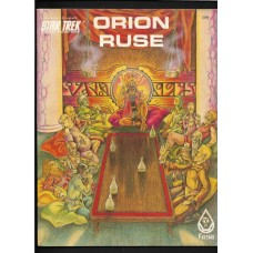 ORION RUSE - STAR TREK THE ROLE PLAYING GAME MODULE - FASA 1985