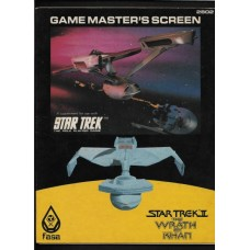 GAME MASTERS SCREEN - STAR TREK THE ROLE PLAYING GAME - FASA