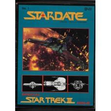 STARDATE - 1 MAGAZINE FASA 1984 - STAR TREK ROLL PLAYING GAME RESORCE BOOK - FINE - RARE !!