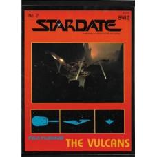 STARDATE - 2 MAGAZINE FASA 1984 - STAR TREK ROLL PLAYING GAME RESORCE BOOK - FINE - RARE !!