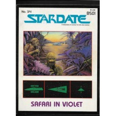 STARDATE - 3/4 MAGAZINE FASA 1984 - STAR TREK ROLL PLAYING GAME RESORCE BOOK - FINE - RARE !!
