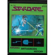 STARDATE - 5/6 MAGAZINE FASA 1984 - STAR TREK ROLL PLAYING GAME RESORCE BOOK - FINE - RARE !!