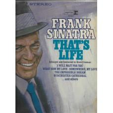 FRANK SINATRA THATS LIFE  - 33 LP RECORD - RARE !!