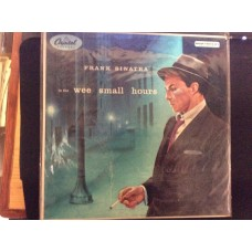 FRANK SINATRA - IN THE WEE SMALL HOURS - 33 LP RECORD - CAPITAL RECORDS - VERY GOOD CONDITION