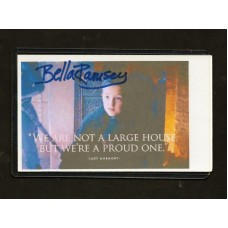 BELLA RAMSEY SIGNED 3X5 INDEX CARD - GAME OF THRONES