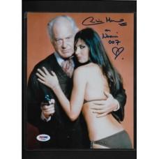 CAROLINE MUNRO - SIGNED 8X10 PHOTO - JAMES BOND - SPY WHO LOVED ME - PSA/DNA