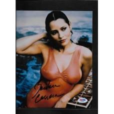 BARBARA CARRERA SIGNED 8x10 PHOTO - JAMES BOND - NEVER SAY NEVER AGAIN - PSA/DNA