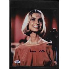 MARYAM D'ABO 007 JAMES BOND AUTHENTIC AUTOGRAPH AS KARA MILOVIC LIVING DAYLIGHTS - PSA/DNA AF50858