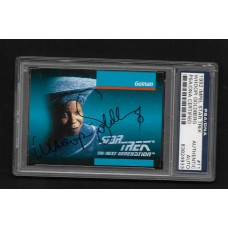 WHOOPI GOLDBERG - AUTOGRAPH 1992 IMPEL STAR TREK CARD #11 - PSA/DNA 83824933