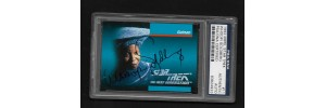 WHOOPI GOLDBERG - AUTOGRAPH 1992 IMPEL STAR TREK CARD