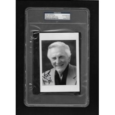 KIRK DOUGLAS - AUTOGRAPHED 5x7 B&W PHOTO PSA/DNA 83824935 - DECEASED - RARE !!