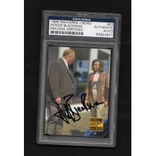 HONOR BLACKMAN - 1996 INKWORKS JAMES BOND CARD #63 AUTOGRPHED - PSA/DNA 83824931