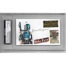 JASON WINGREEN-  3x5 INDEX CARD - STAR WARS  - PSA/DNA