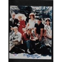 GILLIGANS ISLAND SIGNED CAST 8x10 PHOTO PSA/DNA #AF03888 - RARE !