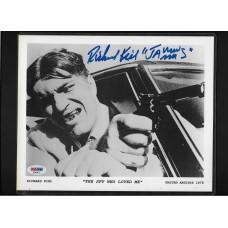 RICHARD KIEL - AUTOGRAPH 8X10 B&W PHOTO - JAMES BOND - JAWS - PSA/DNA #AD40472