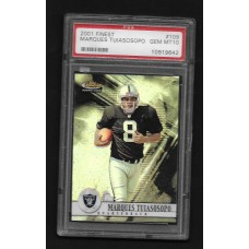 MARQUES TUIASOSOPO 2001 FINEST #109 GEM MT 10 FOOTBALL CARD PSA 10919642
