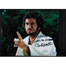 BOB WALL - AUTOGRAPH 8X10 COLOR PHOTO - BRUCE LEE ENTER THE DRAGON - PSA/DNA