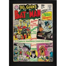 BATMAN -GIANT 176 COMIC - VG/F CONDITION - RARE !!