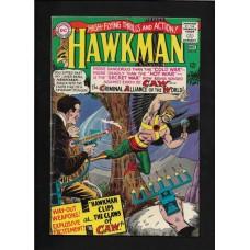 HAWKMAN 10 COMIC BOOK DC - VG+ 1965 - RARE !!