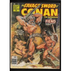 Savage Sword of Conan #28 - SIGNED BY EARL NORMAN - G/VG - RARE