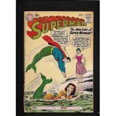 "SUPERMAN 139 COMIC  "" THE NEW LIFE OF SUPER-MERMAN "" Good"