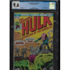 INCREDIBLE HULK 187 COMIC - CGC 9.6 - HIGH GRADE