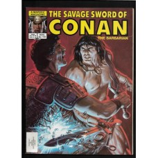 SAVAGE SWORD OF CONAN 103 F/VF - RARE !!