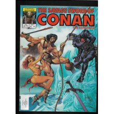 SAVAGE SWORD OF CONAN 104 F/VF - RARE !!
