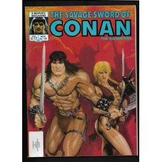SAVAGE SWORD OF CONAN 106 F/VF - RARE !!